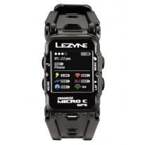 GPS часы Lezyne MICRO C GPS WATCH COLOR HR Чорний  COLOR GPS WATCH UNIT, HEART RATE SENSOR, HANDLEBAR ADAPTER, USB CHARGER CABLE INCLUDED