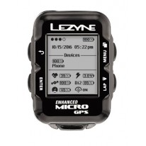 GPS компьютер Lezyne MICRO GPS HR LOADED Чорний  MICRO GPS UNIT, HEART RATE MONITOR, USB CHARGER CABLE INCLUDED. INCLUDES MOUNT For Handle Bars/stem
