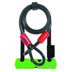 U-образный велозамок ABUS 410/150HB140+SH34+Cobra 10/120 Ultra Mini