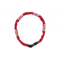 ABUS 4804C/75 Steel-O-Chain red