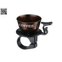 Звонок велосипедный COFFEE R16 NH-B438AP brown