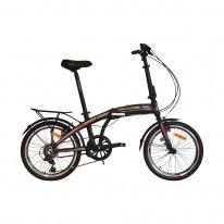 """Велосипед складаний 20"""" VNC MidWay EQ 20 2021 black"""