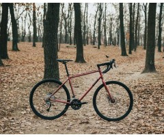 """Велосипед туринг на осях 28"""" Pride Rocx Tour 2020 бордо"""