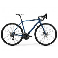 "Adventure bike 28"" Merida Mission Road 400 (2020) silk ocean blue"