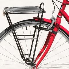 Передний  велобагажник Blackburn Bootlegger, 26''/27,5''/700C/29'', алюм., чорн., 917г