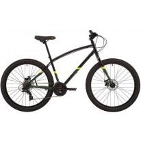 """Міський велосипед 27.5"""" Pride Rocksteady 7.2 чорно-синій 2021"""