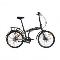 """Велосипед складаний 24"""" VNC FineWay EQ 2021 black"""