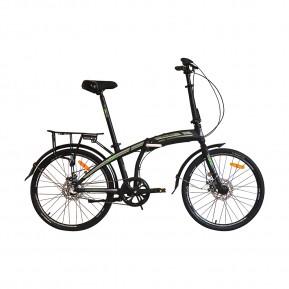 "Велосипед складной 24"" VNC FineWay EQ 2021 black Фото №1"
