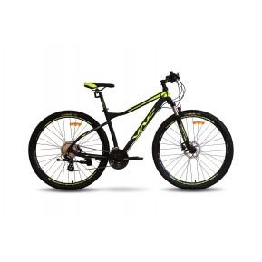 "Велосипед горный 29"" VNC FastRider A5 2021 black-lime Фото №1"