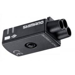 Порт Shimano SM-EW90A (на 3 разъема) для Di2, внутр. монтаж