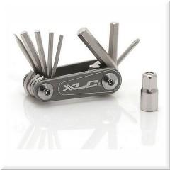 Набор шестигранников XLC 'Nano', 9 функций, серебристый