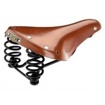 Велосипедное  сиденье BROOKS Flyer S Honey + смазка 25 гр