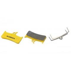Колодки дисковые ALHONGA HJ-DS09 совместимые Shimano XT M755/756/Grimeca system 8 sinter gold