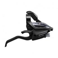 Гальмівна ручка/шифтер Shimano Altus ST-EF500 правий 7 швидк., трос, чорний ОЕМ