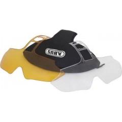 Набор линз для шлема ABUS IN-VIZZ Glasses set (clear&yellow)