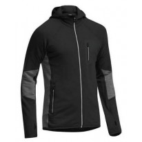 Кофта Icebreaker Atom LS Zip MEN black/monsoon