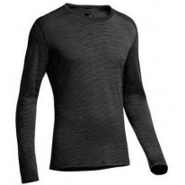 Кофта Icebreaker BF 200 Oasis LS Crewe MEN black/snow