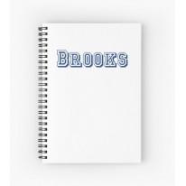 Блокнот BROOKS NOTEBOOK SMALL