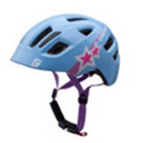 "Велошлем  детский Maxter голубой ""звезды"" размер XS-S (46-51 см)"