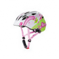 """Велошлем  детский Akino белый/розовый """"фея"""" размер S (49-53 см)"""