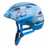 """Велошлем  детский Akino голубой """"пират"""" размер  S (49-53 см)"""
