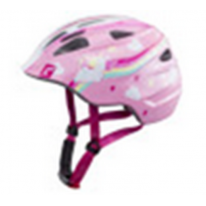 """Велошлем  Cratoni детский Akino розовый """"единорог"""" размер S (49-53 см)"""