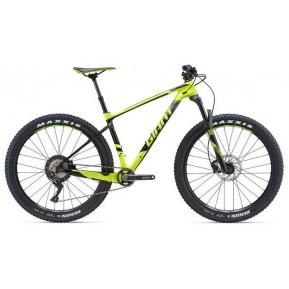 Велосипед  27,5+ Giant XTC Advanced + 2 неон желт. L 2018 Фото №1