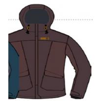 Женская куртка Hannah Karen fudge/chocolate mel 38