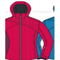 Женская куртка Hannah  JORDAN teaberry 38