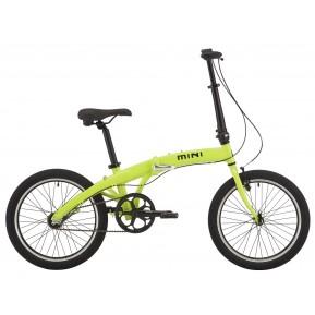 Велосипед 20'' Pride MINI 3 неон/лайм 2021 Фото №1