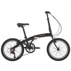 Велосипед 20'' Pride MINI 6 темно-зеленый) 2021 Фото №1