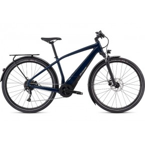 e-bike Велосипед Specialized VADO 3 NB 2021 CAST BLUE / BLACK / LIQUID SILVER Фото №1