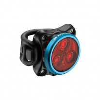 Задняя мигалка Lezyne ZECTO DRIVE REAR LIGHT 80 LM, голубой
