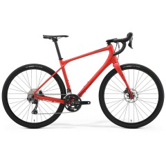 """Гравийный велосипед 28"""" Merida Silex 700 S(47) Matt Race Red 2021 Shimano GRX 810"""