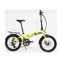 "Складной велосипед 20"" Vento Foldy ADV желтый 2021"