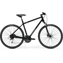 """Кроссовый велосипед 28"""" Merida CROSSWAY 100 black 2021"""