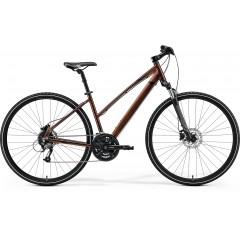 """Кроссовый велосипед 28"""" Merida CROSSWAY CROSSWAY 40,M LADY (50L),BRONZE  2021"""