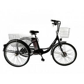 """Электровелосипед дорожный трехколесный 26"""" Kelb.Bike 350W+PAS Фото №1"""