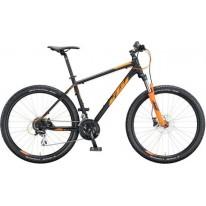 """Велосипед 27.5 """" KTM CHICAGO DISC - 2020 черно-оранжевый"""