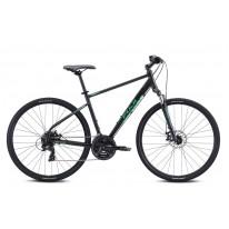 "Велосипед 28"" Fuji TRAVERSE 1.7  - Satin Black Green  2021"