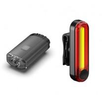 Світло переднє і заднє LeLumia Nano Split combo 150/50