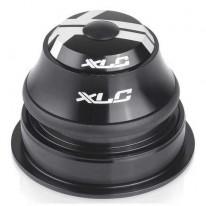 Рульова колонка XLC HS-I07, 1 1/8 - 1 1/4, конус, напівінтегрована