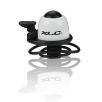 Дзвінок велосипедний XLC DD-M07, білий, Ø22,2-31,8 мм