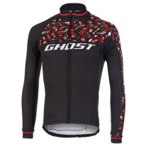 Джерси Ghost  Racing Jersey Long blk/red/wht - L