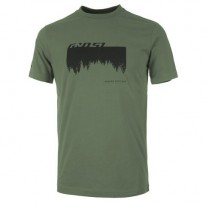 Футболка Ghost Casual Line Woods (зеленая) XL