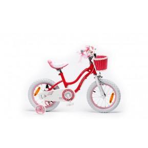 "Велосипед RoyalBaby STAR GIRL 16"", розовый Фото №1"