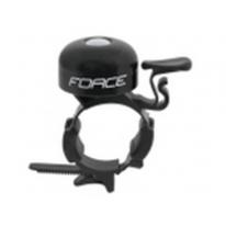 Дзвінок FORCE сталь / пластик 22,2-31,8 мм, чорний