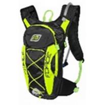 Рюкзак для гидратора FORCE ARON PRO PLUS 10 l + 2 l reservoir,  black-fluo