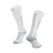 Носки FORCE ATHLETIC PRO COMPRESS, white-grey