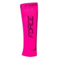 Гетры компрессионные FORCE, pink-black S-M